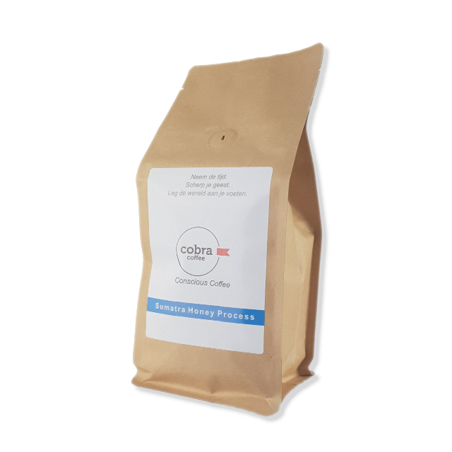 Sumatra Honey Process verpakking - illustratief