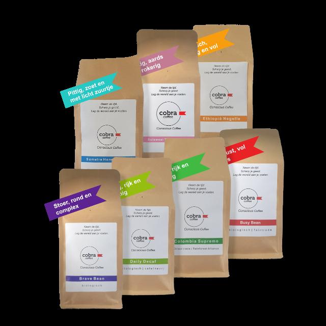 Magnificent7, de 7 heerlijkste koffiebonen van Cobra Coffee